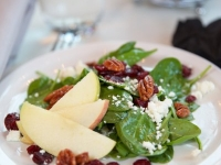spinach_apple_pecan_goatcheese_rough_hollow_yacht_club_lakeway_austin_texas_pavilion_wedding