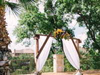 arch_banjo_rough_hollow_yacht_club_lakeway_austin_texas_pavilion_wedding
