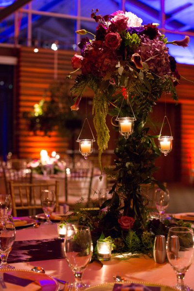 Dinner Table Votive And Uplights Lighting With Fs
